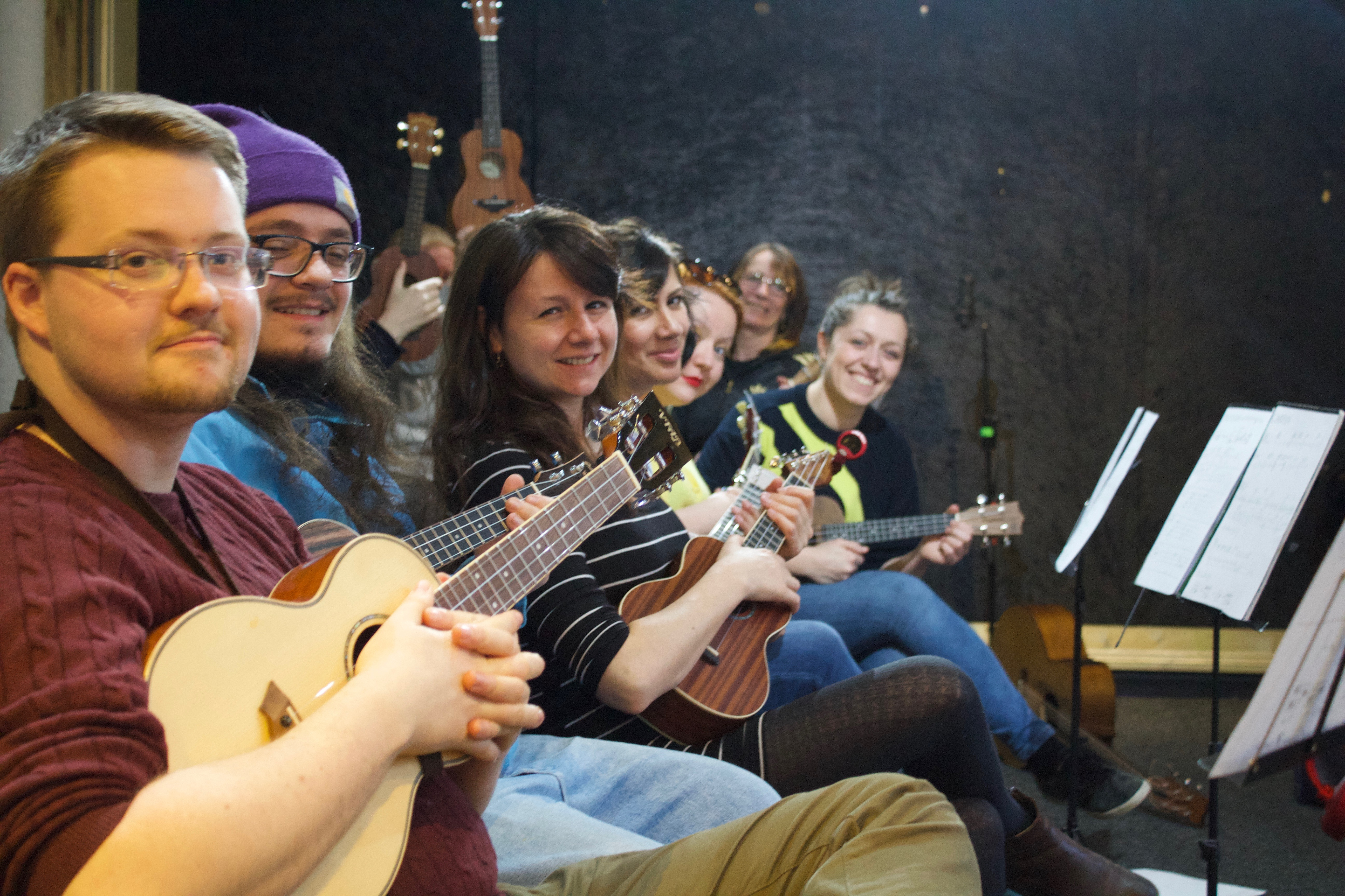 The First Chord Ukulele Orchestra